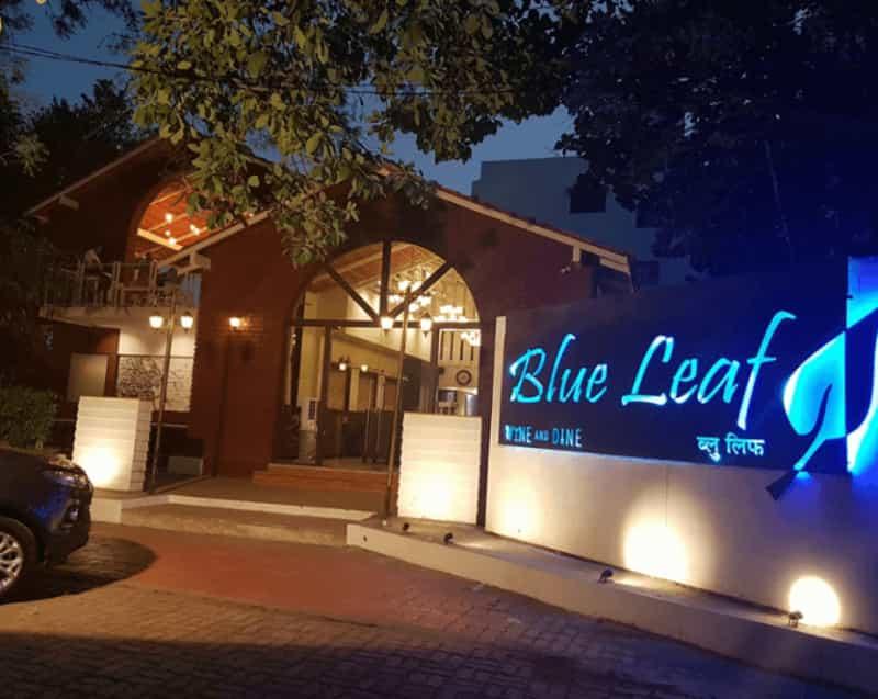 The Tasteful Lighting at Blue Leaf