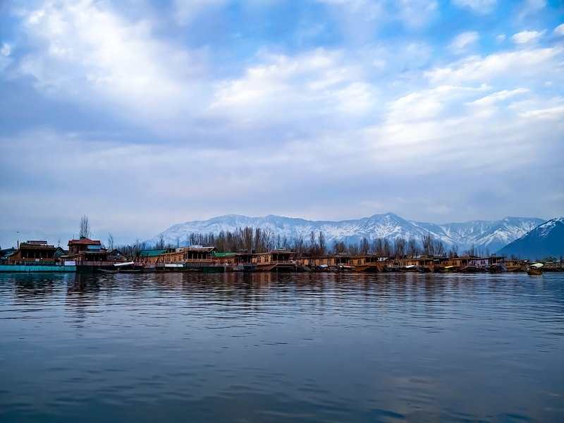 The awesome Dal Lake in Srinagar