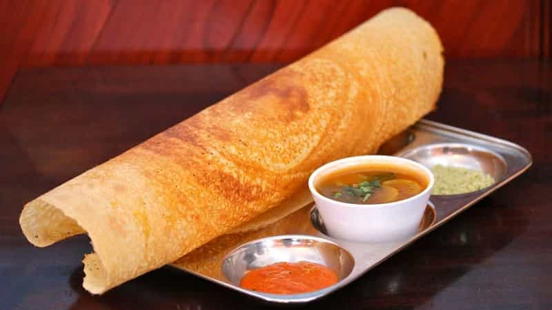 The most famous place for dosa has got to be Ram ki Bandi in Nampally