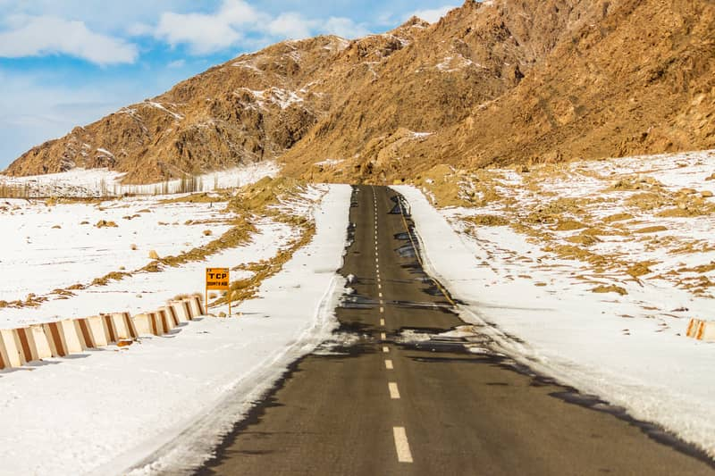 The route to Ladakh