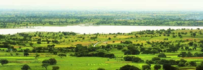 The scenic Ananthagiri Hills