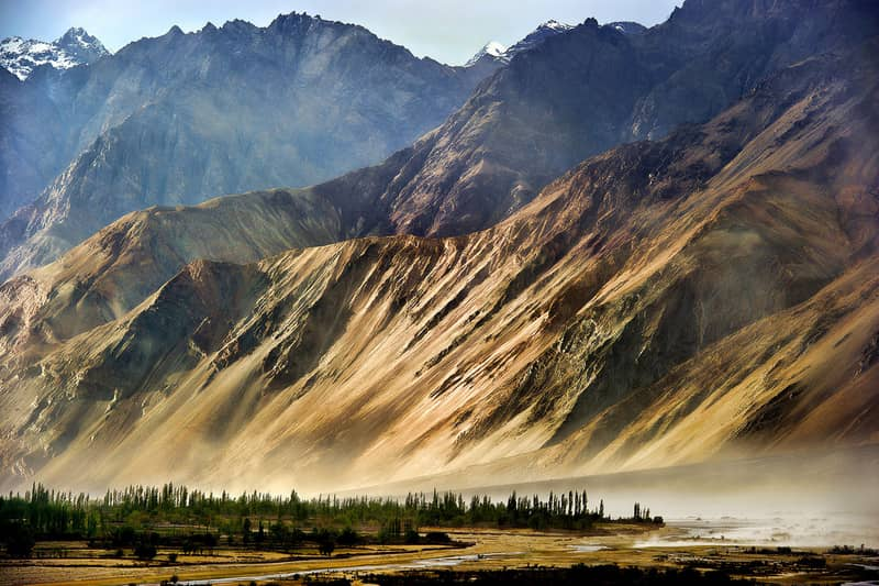 The spectacular Nubra Valley