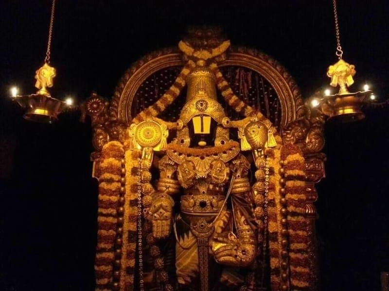 Join devotees seeking darshan daily