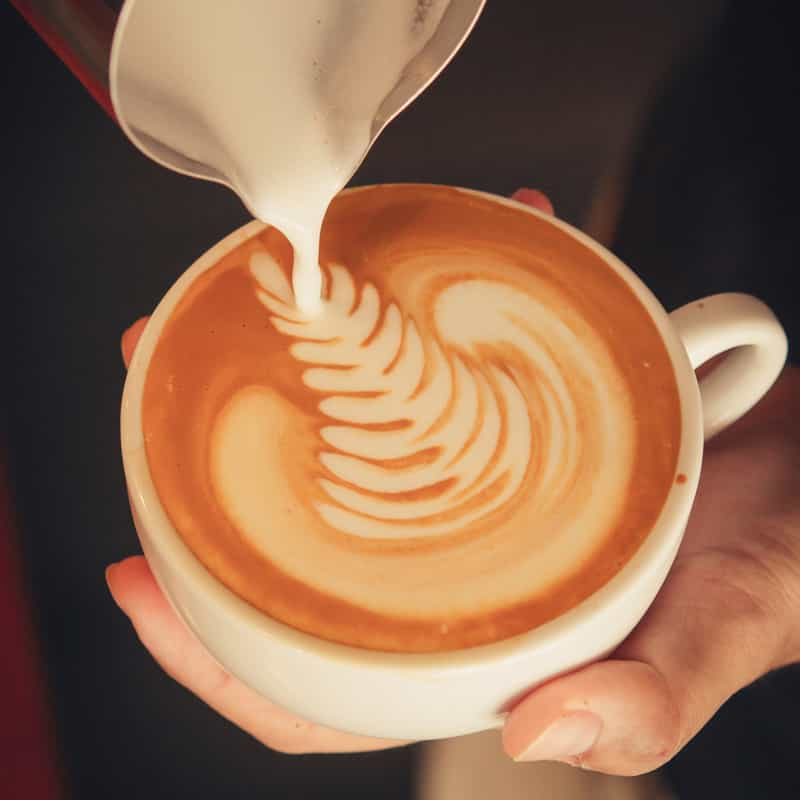 Try the Café Latte if you're not in the mood for alcohol