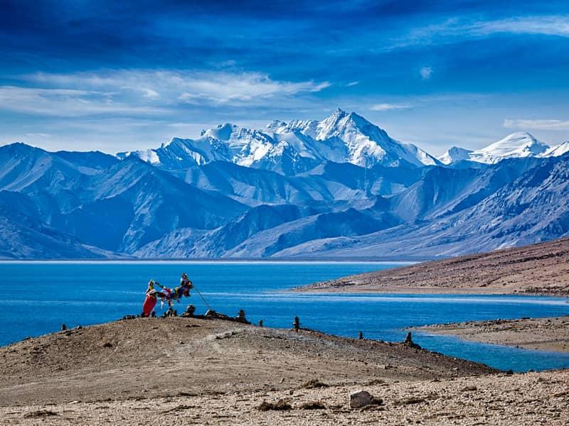 Tso Moriri is a beautiful lake in Ladakh