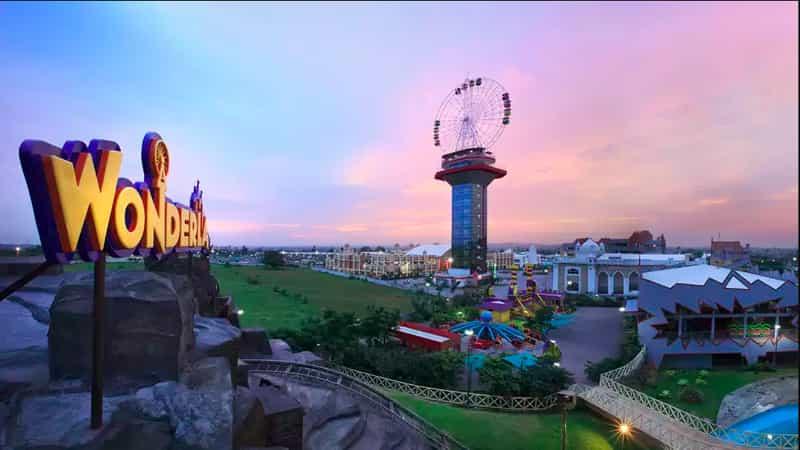 Visit the Wonderla Amusement Park for thrilling rides