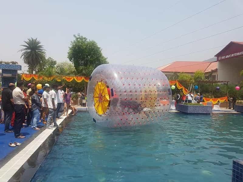 Water Rolling at Odyssey Wonder