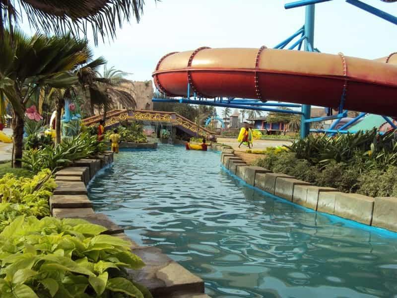Water slide at VGP Universal Kingdom