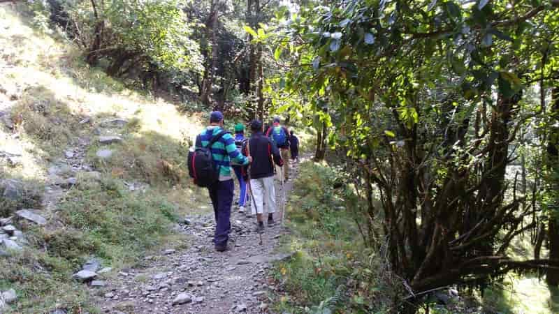 Enjoy the Hathipaon Walk