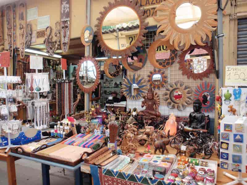 A souvenir shop in Mussoorie