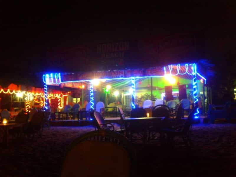 When in Goa, you must enjoy a night out at the beach shacks