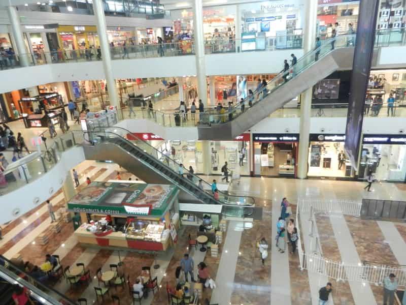 Window Shopping at malls in Mumbai can be fun