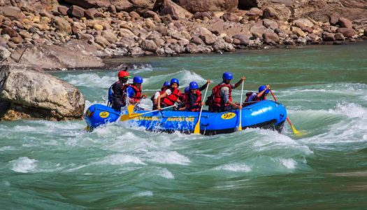 13 Thrilling Spots For River Rafting in India