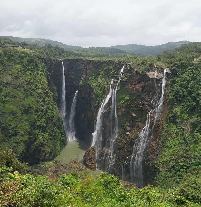 A View of the Jog Falls in Karnataka