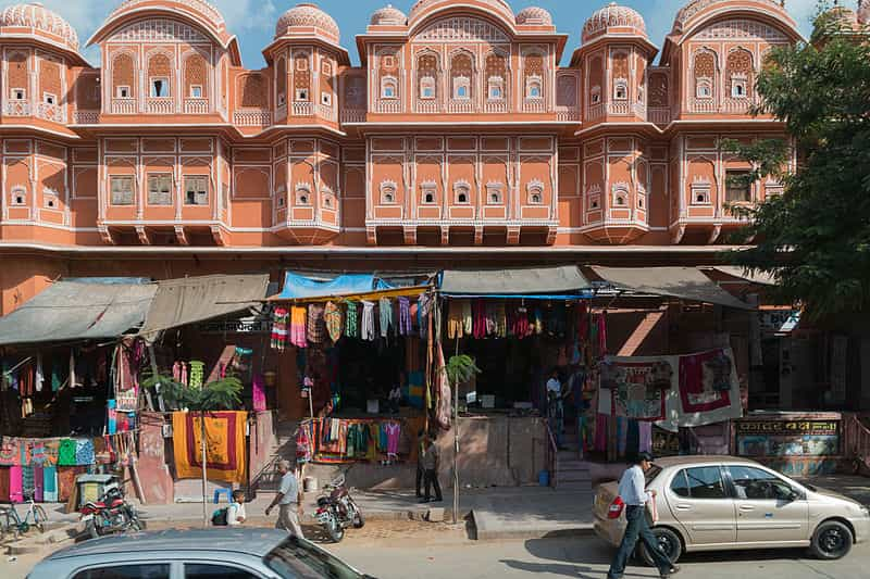 Clothes at Hawa Mahal Bazaar