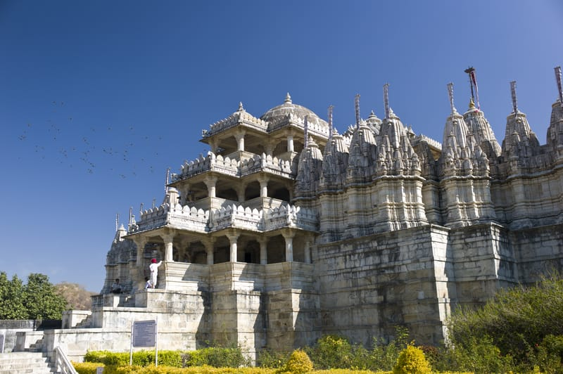 The magnificent Dilwara Temple
