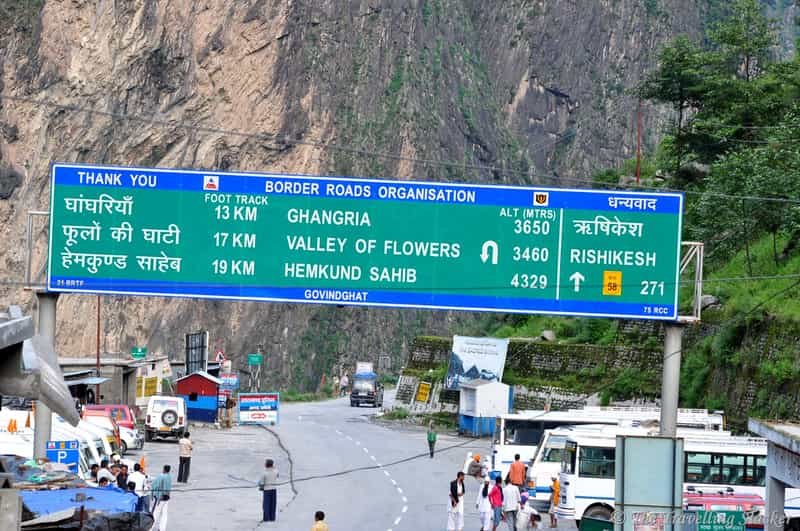 From Govindghat to Ghangaria