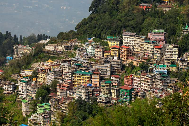The capital of Sikkim, Gangtok is pleasant in every way