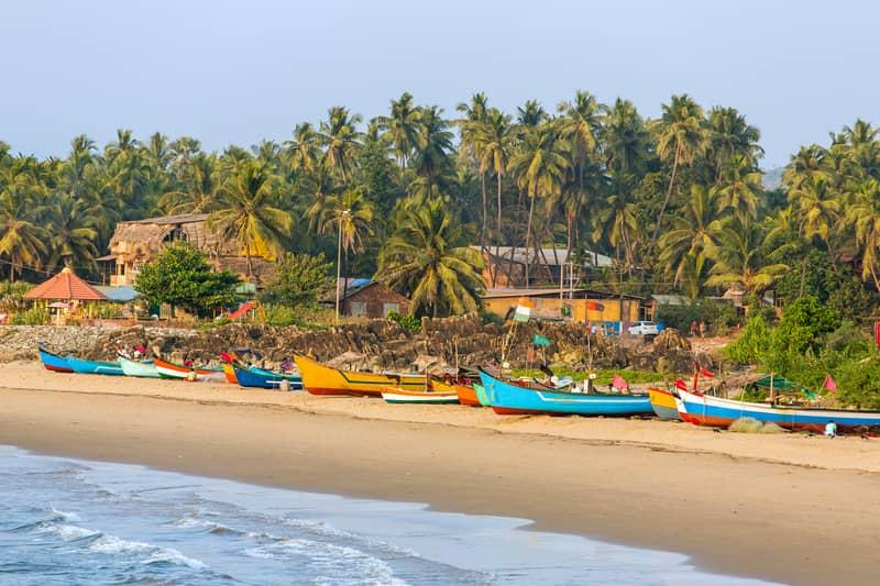 Gokarna has an active fishing village