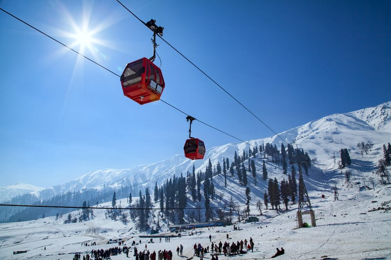 Gulmarg is a favourite for Bollywood movie shoots