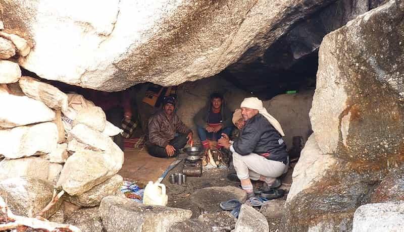 Inside Lahesh Cave