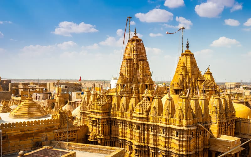 Jaisalmer is known as the golden city