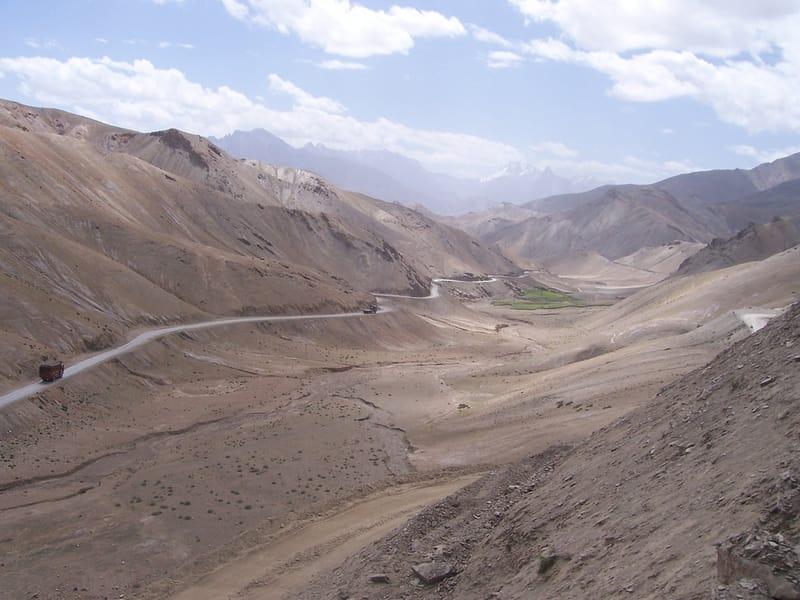 Road from Kargil to Leh