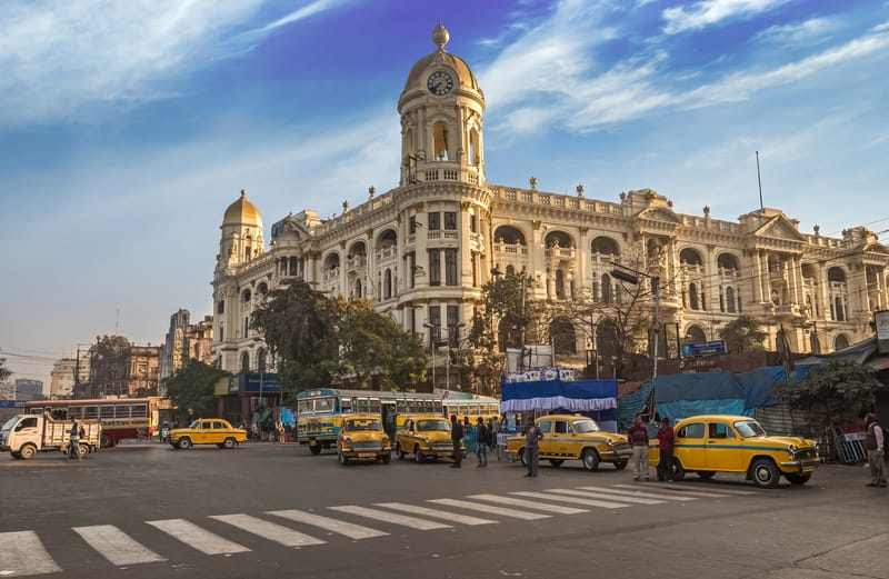 Kolkata is a great blend of old world charm and a bustling city