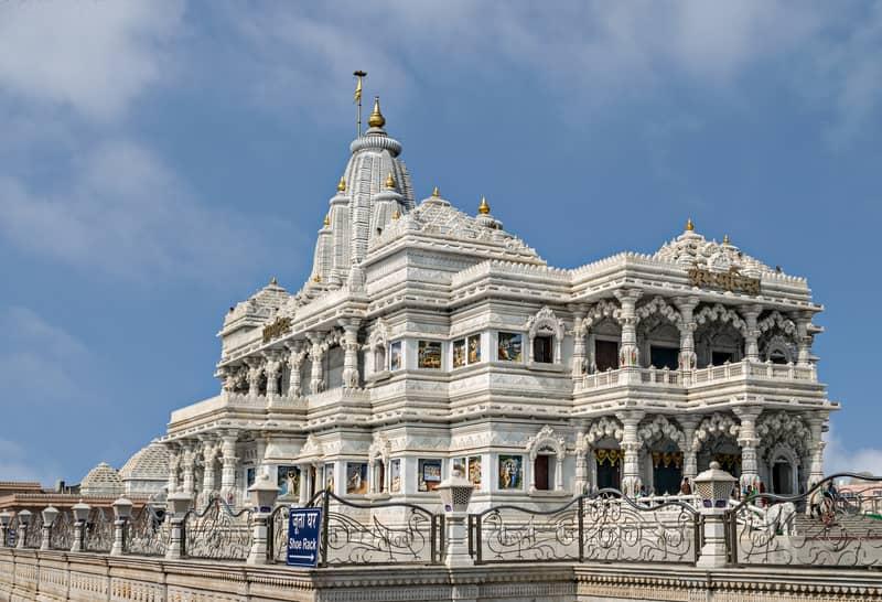 The Prem Mandir in Mathura