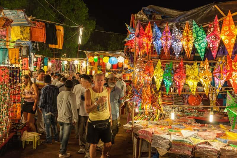 Night Bazaar at Goa