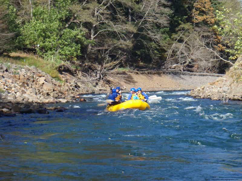 Rafting at Tons river in Garhwal