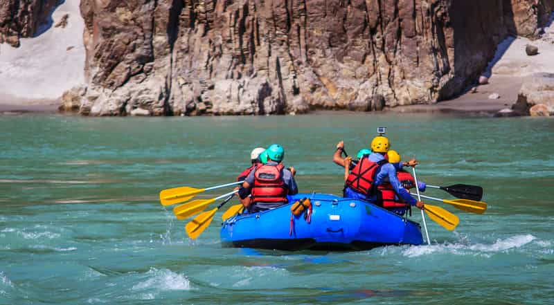 Rafting in Tawang