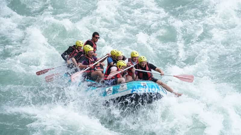 Rafting on the Teesta River