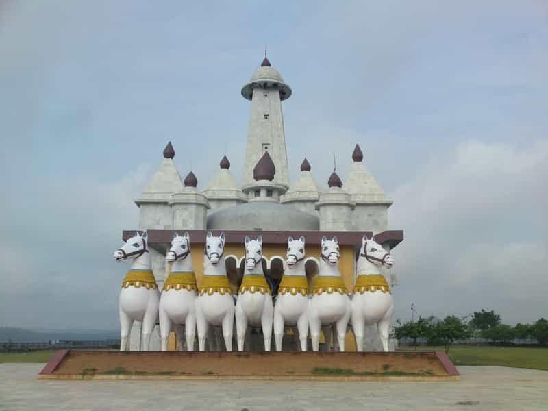 Ranchi's famous Sun Temple