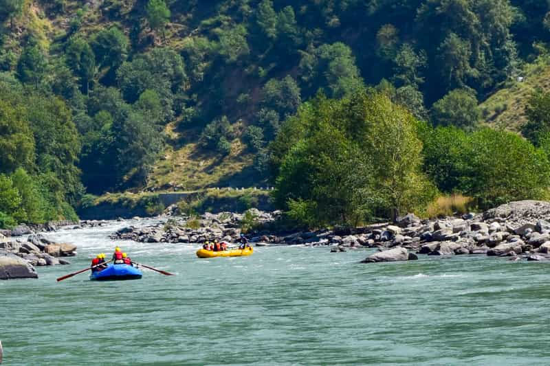 River Rafting on the Indus River