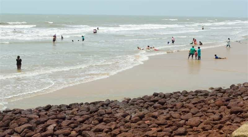 Shankarpur is considered a beach destination in these parts