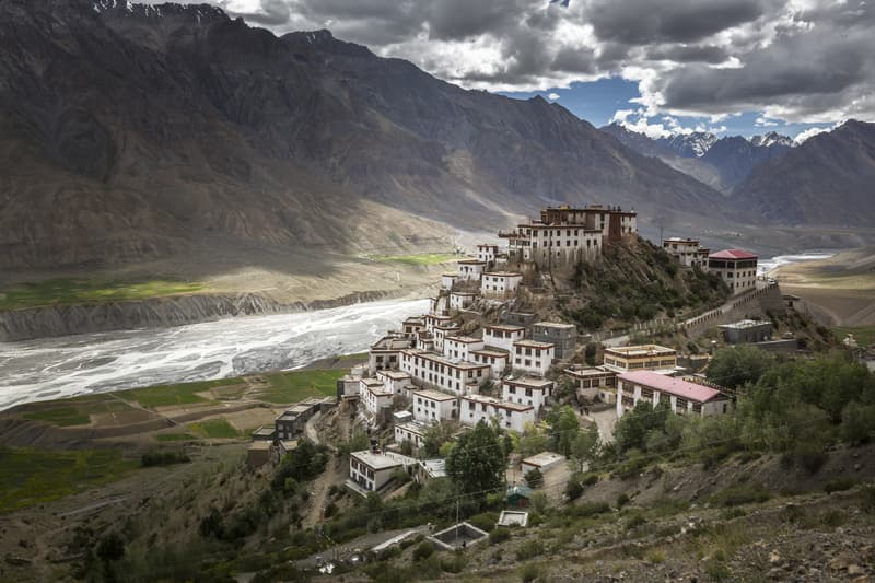 Spiti Valley separates India from Tibet
