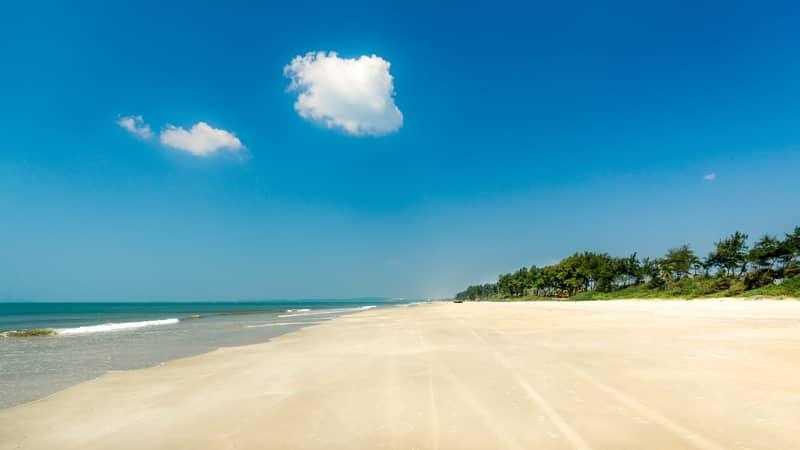 Sunny Beach at Betalbatim