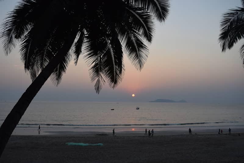 Sunset at Bogmalo