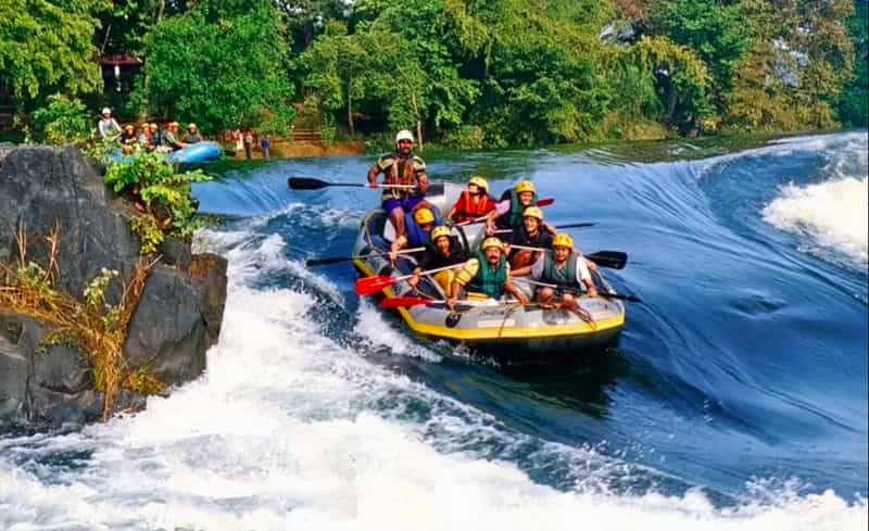The Barapole River is great for rafting