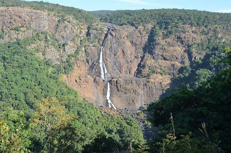 The Barehipani Falls in Odisha