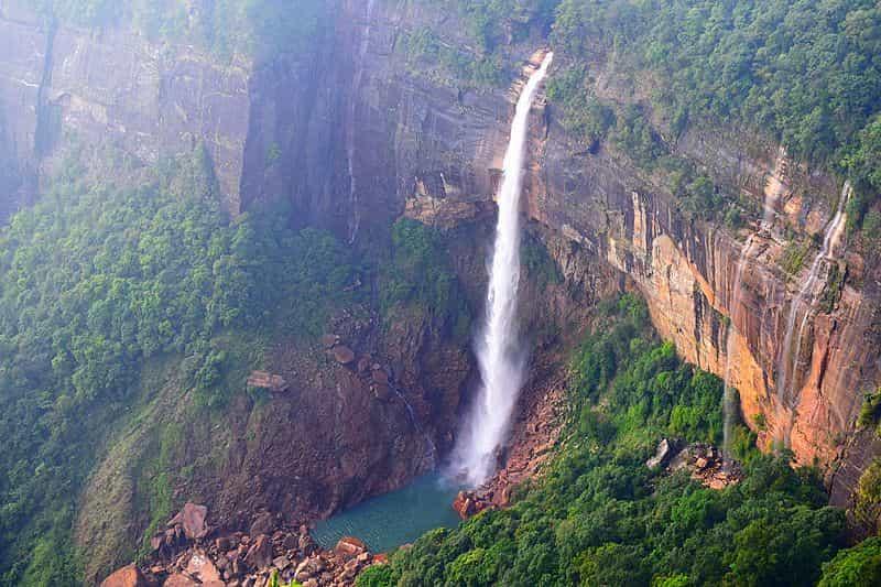 The High and Mighty Nohkalikai Waterfalls