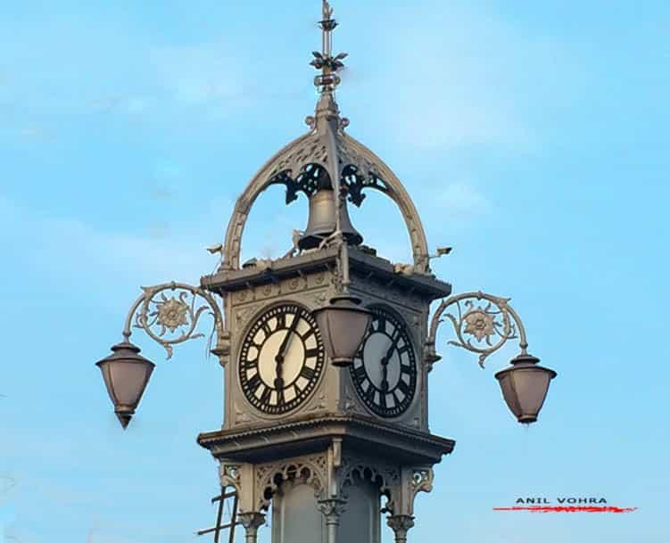 The clock tower at Chinsurah