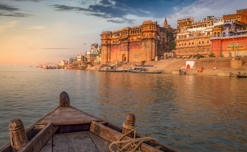 Varanasi is considered to be a holy spot