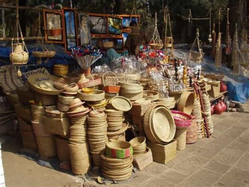 Shopping Street in Agra