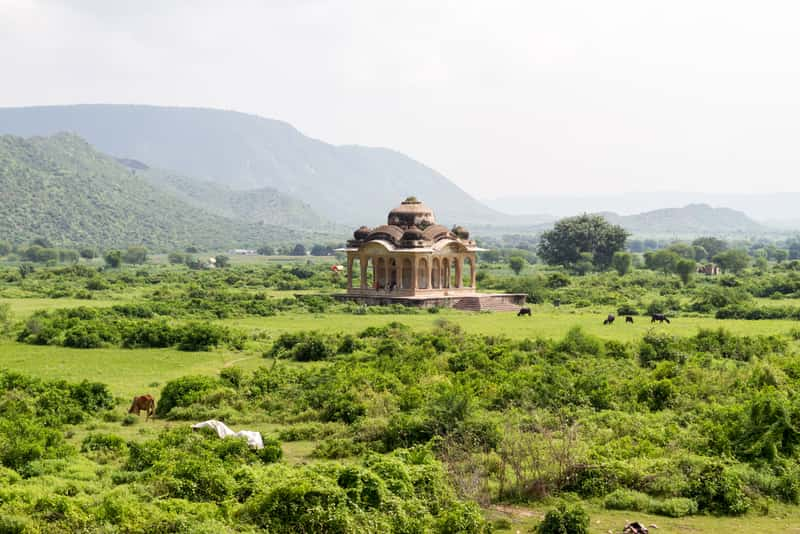 Temples of Bhangarh Fort
