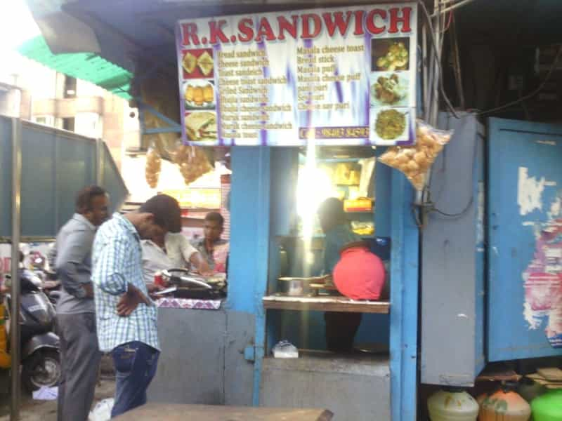 R.K. Sandwich Shop