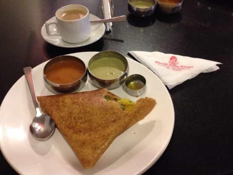 Enjoy Breakfast at MTR,St. Marks Road
