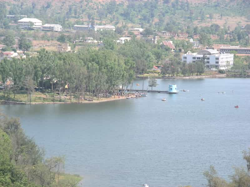 Aerial View of Saputara Lake