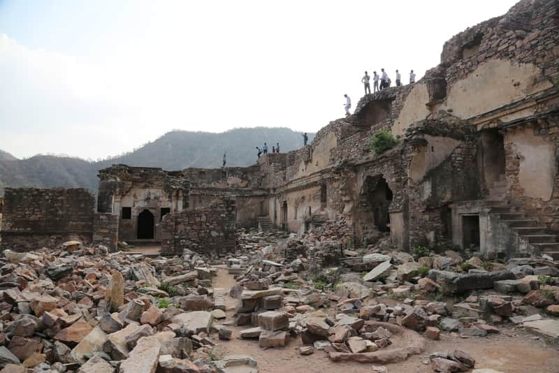 Real Bhangarh Fort